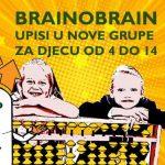 Upisi u sve Brainobrain centre su u tijeku